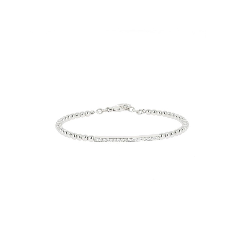 BRACELET BARETTE DE DIAMANTS