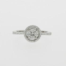 Bague Solitaire Diamants Marquises