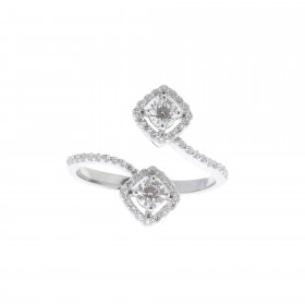 BAGUE SQUARE DIAMOND